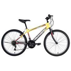 Bici Mountain Bike Integral Uomo Power Antracite / Giallo 24'' F. lli Schiano