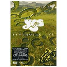 Dvd Yes - Symphonic Live
