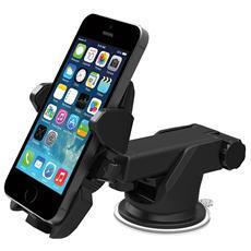 One Touch 2 supporto universale auto / tavolo con braccio espandibile nero