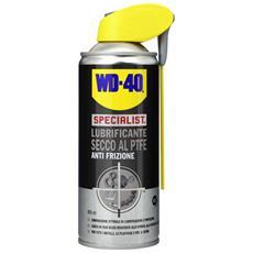 LUBRIFICANTE SECCO PTFE SPRAY WD40 SPECIALIST 400 ml conf. 6 pezzi