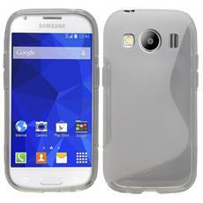 Cover S-Line Trasparente per Samsung Galaxy ACE4 G357FZ