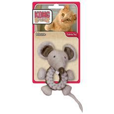 Per gatti modello Braidz Mouse soggetto topo riempibile di erba gatta resistente ed accattivante