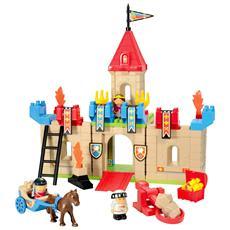 Costruzioni Abrick 3178 Castello Cm 50x65 Ecoiffier Per Bambini 18 Mesi