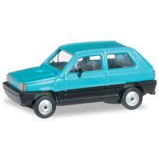 Modellino Auto H0 Fiat Panda 45 Turchese 1/87 027335 003