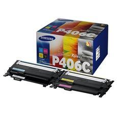 CLT-P406C / ELS Kit di Manutenzione Originale a Colori per Samsung CLP-360 Capacità 4500 Pagine