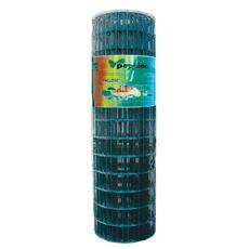 Rete zincata elettrosaldata con rivestimento in PVC 1,8 x 25 m