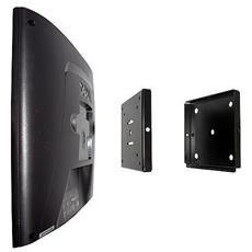 Supporto LCD a muro, 35kg, Nero