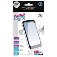 Mix antiBacterial Antiriflesso Galaxy S4 i9500 2pezzo (i)