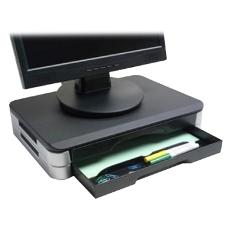 LCD Monitor Stand, Nero