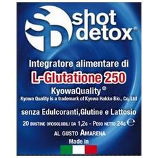 Shot detox orosolubile 20 stick amarena