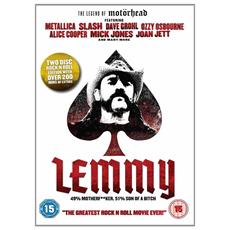 Lemmy - The Legend Of Motorhead (2 Dvd)