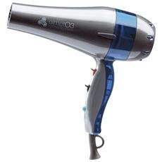 Asciugacapelli Ossigeno Attivo Potenza 2100 Watt Colore Blu