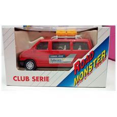 Road Monster Autocraft Rossa 1:36 Die Cast Metal