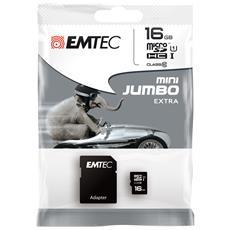16GB microSD, 16 GB, Micro Secure Digital (MicroSD) , 25 MB / s, Nero, 1,1 cm, 1,5 cm
