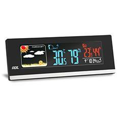 WS 1601 Batteria Nero, Bianco digital weather station