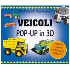 Veicoli pop-up in 3D. Con gadget