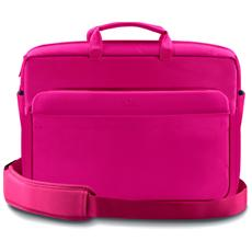 "*Borsa Pc Fino A 11,6'' ""Facile"" Nylon Rosa"
