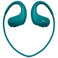 Lettore MP3 WS413 All In One 4GB Impermeabile 4GB Azzurro