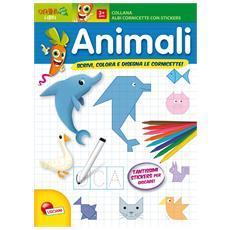 Animali - Albo Cornicette E Stickers
