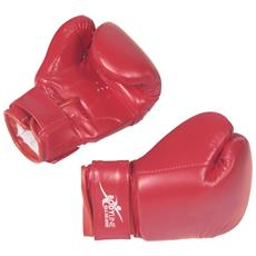 Guanti Boxe 8 Once Rosso Unica