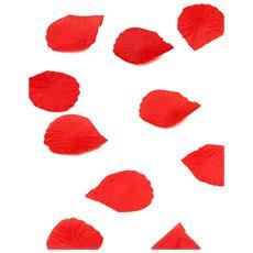 150 Petali Di Rosa In Tessuto Rosso Taglia Unica