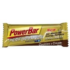 25 X Energize Bar 55 G - Powerbar - Barrette Energetiche - Biscotto E Crema