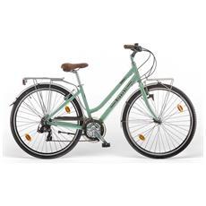 City Bike Bianchi Spillo Rubino Deluxe Donna 21v Celeste Vintage