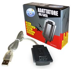 "USB 2.0 - SATA / IDE, 2.5/3.5"", HDD / CD, 480 Mbps,"
