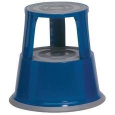 pz. 1 Sgabello blu 600x438 mmruote rientranti 8041978