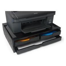 A3 / A4 Printer Organizer - Plastica, Nero
