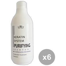 Set 6 Shampoo Purifyng Pre-trattamento. 250 Ml. Prodotti Per