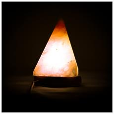 Lampada Di Sale Himalayano A Forma Di Piramide Usb