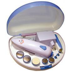 MPS2790 Set Manicure e Pedicure Colore Bianco / Blu
