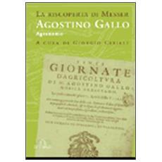La riscoperta di messer Agostino Gallo