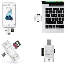 Ireader Letttore Di Memorie Sdhc Sd Tf Ios Android E Pc Otg Usb 3.0 Iphone Ipad 5 6 Ipod Etc.