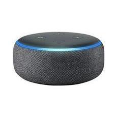 Altoparlante inteligente Echo Dot con Alexa integrato Bluetooth Wi Fi Antracite