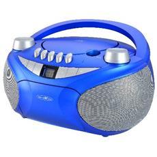 RCR4655, Analogico, FM, UKW, Lettore, CD, CD-R, CD-RW, DVD+R, CA / Batteria, LCD