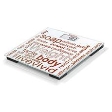 63765 Jolly Bilancia Pesapersone Digitale Capacità Carico 180 Kg Colore Bianco / Rosso