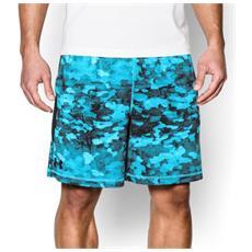 Shorts 8in Raid Novelty Printed Uomo M Fantasia Blu