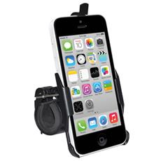 Bicycle Handlebar Mount, iPhone 5C, Telefono cellulare / smartphone, Bicicletta, Nero
