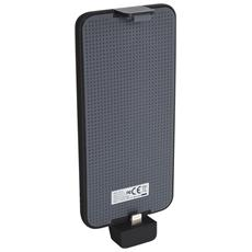 Solar PowerBack 3000 Lightning, Solare, USB, Nero, Blu, Smartphone, Micro-USB, iPhone 5, 5S, 6, 6 Plus, 6S, 6S Plus