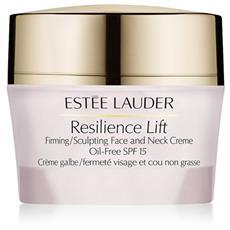 Resilience Lift Firming / Sculpting Face And Neck Creme SPF 15 crema rassodante viso e collo per pelle normale-mista 50 ml