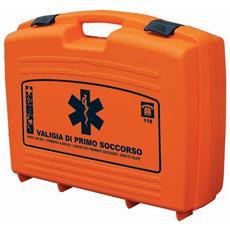 Valigia Pensile Del Primo Soccorso Maxicases Vuota In Polipropilene Colore Arancio 51,5x41,5x13,5 Cm