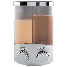 Duo - Dispenser Sapone Da Muro Cromato