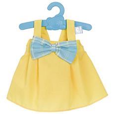 FMS700012824-6 Nenuco - Vestitino Giallo con Fiocco Azzurro