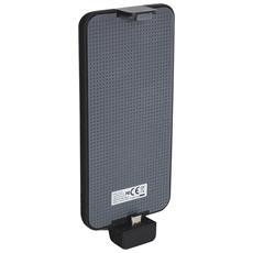 Solar PowerBack 3000 MicroUSB, Solare, USB, Nero, Blu, Smartphone