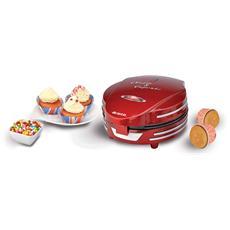 ARIETE - Muffin Cupcake Party Time Macchina per Muffin e Cupcakes Potenza 700 Watt Colore Rosso