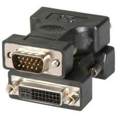 Adattatore ADJ DVIVGA DVI F HD15 M nero