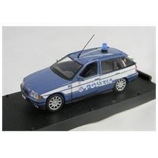Bmw01 Bmw Polizia Con Accessori Modellino