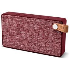 Rockbox Slice Fabriq Edition Speaker Bluetooth - Rosso
